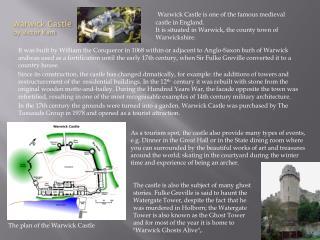 Warwick Castle by Victor Kam