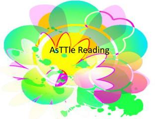 AsTTle Reading