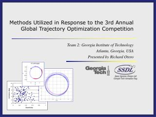 Methods Utilized in Response to the 3rd Annual Global Trajectory Optimization Competition