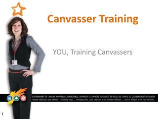 Canvasser Training