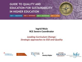 Ingrid  Mula RCE Severn Coordinator Leading Curriculum Change: