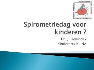 Spirometriedag  voor kinderen ?