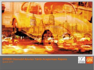 Koçfinans Bayi Memnuniyeti Araştırması Raporu Kasım 2012