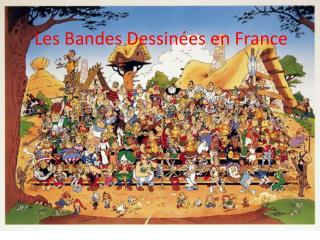 Les Bandes Dessin�es en France