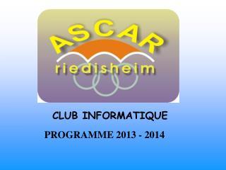 CLUB INFORMATIQUE