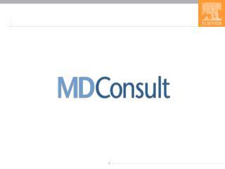 MD Consult  Core Service  �  Nedir?