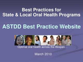 Best Practices for State & Local Oral Health Programs