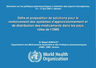Dr Magali BABALEY