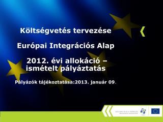 Nemzetközi (EU) szabályozás