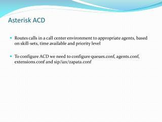 Asterisk ACD
