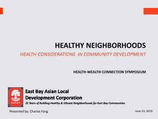 East Bay Asian Local  Development Corporation