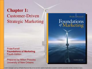 Chapter 1: Customer-Driven Strategic Marketing