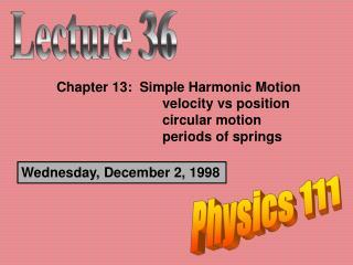 Wednesday, December 2, 1998