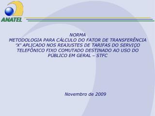 Lei Geral de Telecomunicações Lei 9.472/97