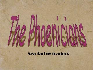 Sea-faring traders