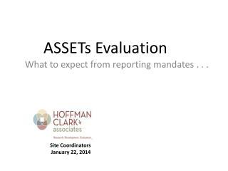 ASSETs Evaluation