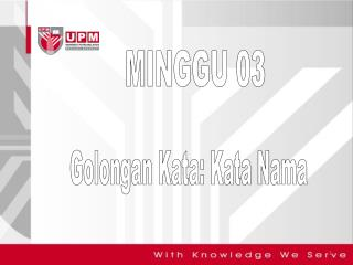 MINGGU 03