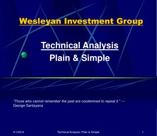 Wesleyan Investment Group