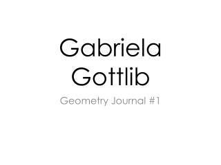 Gabriela Gottlib