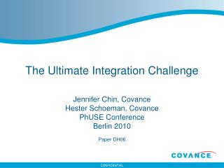 The Ultimate Integration Challenge