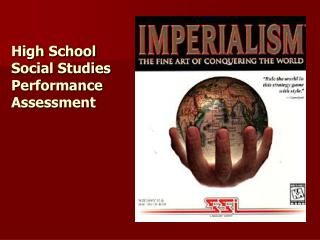 High School Social Studies Performance Assessment