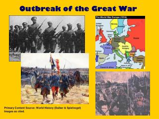 Outbreak of the Great War