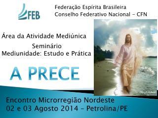 Federação Espírita Brasileira Conselho Federativo Nacional - CFN
