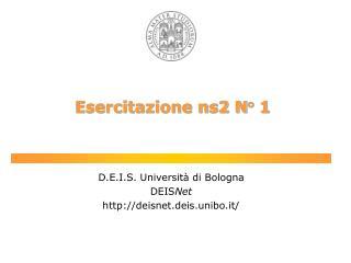 Esercitazione ns2 N� 1
