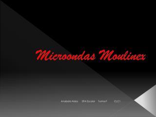 Microondas  Moulinex