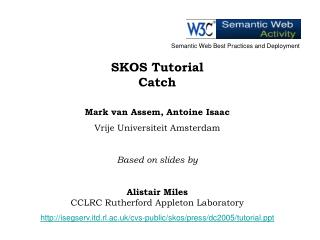 SKOS Tutorial Catch