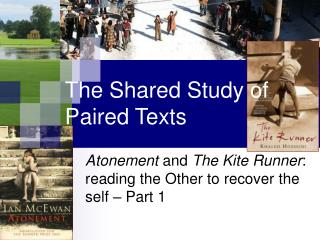 The Shared Study of Paired Texts