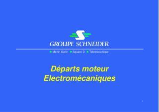 D�parts moteur Electrom�caniques