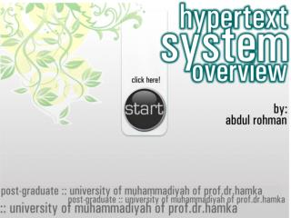 The Concept of Hypertext