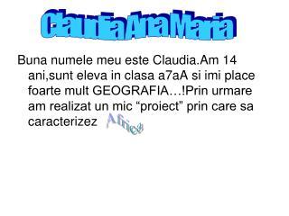 Claudia Ana Maria