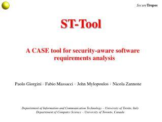 ST-Tool