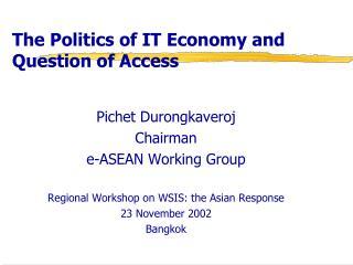 ASEAN ICT Fact Sheet