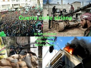 Guerra civile siriana
