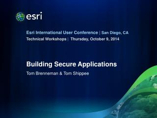 Building Secure Applications