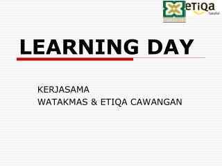 LEARNING DAY