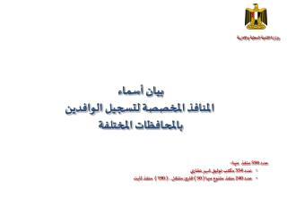وزارة التنمية المحلية والإدارية