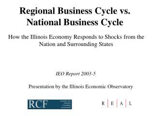 Regional Business Cycle vs. National Business Cycle