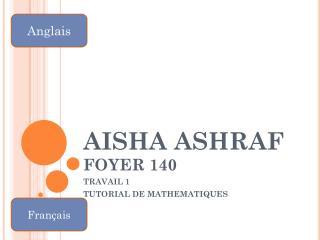 AISHA ASHRAF FOYER 140