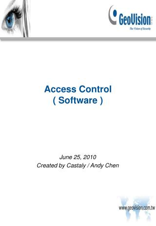 Access Control ( Software )