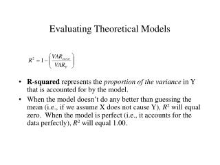 Evaluating Theoretical Models