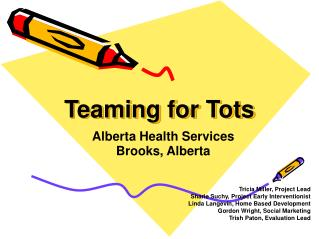 Teaming for Tots