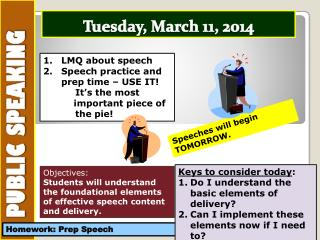 Tuesday , March  11,  2014