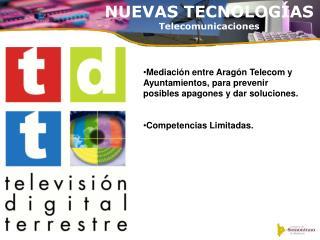 NUEVAS TECNOLOGÍAS Telecomunicaciones