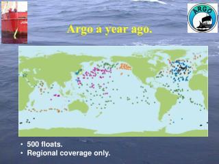 Argo a year ago.