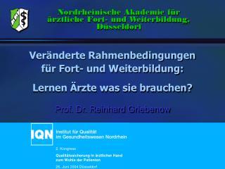 Prof. Dr. Reinhard Griebenow