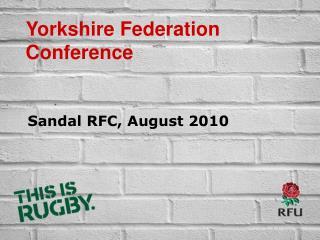 Sandal RFC, August 2010